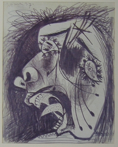 Guernica, Study on Paper 9