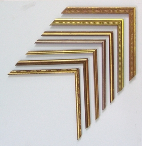 Hand Finished Gold Leaf Frames & Custom Archival Framing