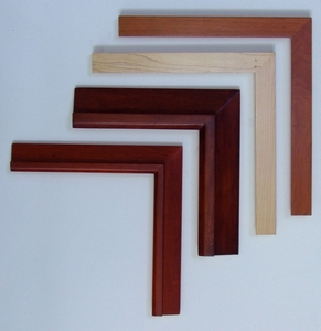 Hand Finished Unique Wood Frames & Custom Archival Framing