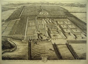 Hutton Hall the Seat of the Honble. St. George Fletcher Barr.t in the County of Cumberland