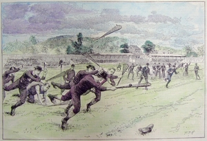 "Lacrosse - ""The Amateur Lacrosse Tournament at the Polo Grounds"""