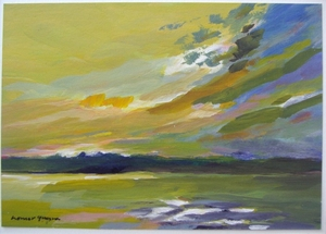 Lake Hopatcong Sunset, Homer Guerra