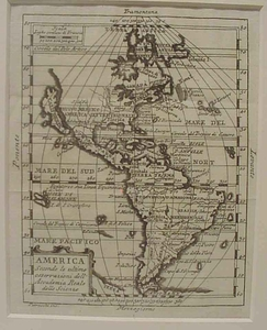 Map of America - 1732