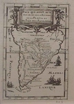 Map Of South America - 1685