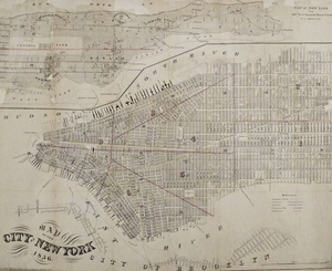 "Map of the City of New York - ""City of Brooklyn/53rd St. to Spuyten Duyvil"""