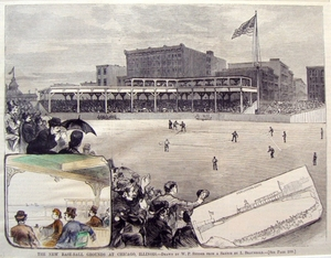 New Baseball Grounds at Chicago, Illinois