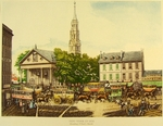New-York in 1831. Broadway St. PaulÕs Church