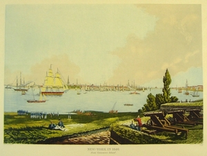 New-York in 1846 from GovernorÕs Island