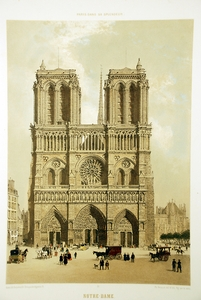 Notre Dame - Fas�ade Occidentale
