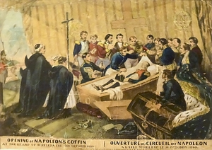 Opening of Napoleon's Coffin