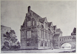 Owen's College, Christie Library, UK