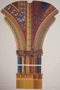Painted Pillar and Ribs by Giotto