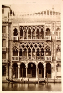 Palazzo with Arches
