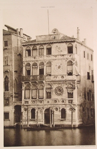 Palazzo with Open Windows