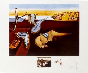 Persistence of Memory Lithograph