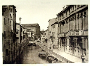 Photogravures from Calli e Canali
