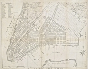 Plan of the City of New York - 1808