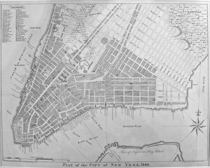 "Plan of the City of New York - ""Wards"""