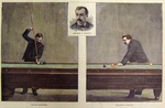 "Pool/ Billiards - ""The Billiard Tournament at Chicago"""