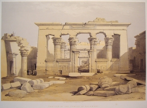 Portico of the Temple of Kalabshi