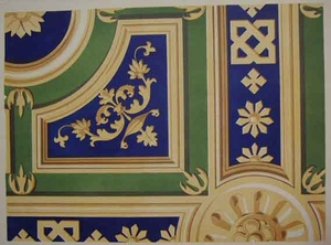 Portion of Painted Ceiling - Monastero Maggiore