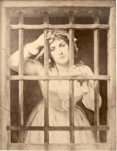 Portrait of Charlotte Corday in Prison