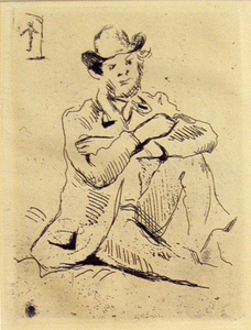 Portrait of Guillaumin, Paul CŽzanne