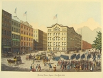 Printing House Square Ð New York 1864.