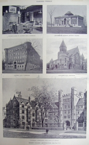 Recent College Architecture at Bowdoin, Cambridge, Princeton, and Yale