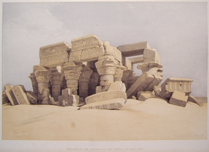 Remains of the Portico of the Temple of Kom Ombo