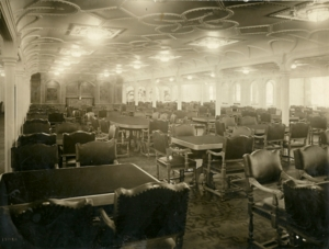 RMS Titanic Dining Room