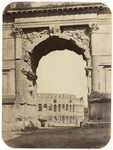 Rome - Arch of Titus and the Colosseum