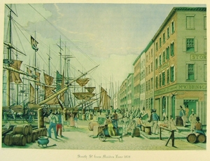 South St. from Maiden Lane. 1828.