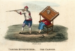 Tartar Musketeer. The Cangue