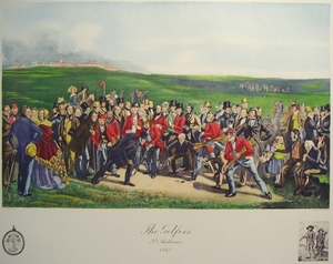 The Golfers St. Andrews 1847