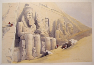 The Great Temple of Aboosimble, Nubia