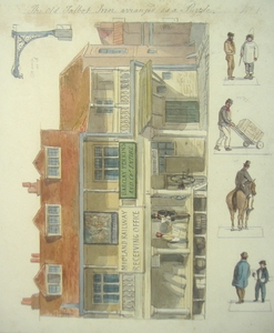 The Old Talbot Inn arranged as a Puzzle No. 1