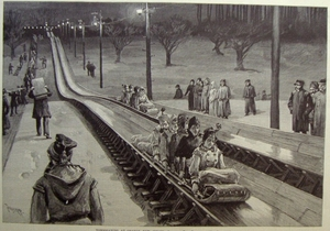 Tobogganing at Orange, NJ