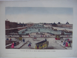 Vue d'Optique of the Seine River, Paris