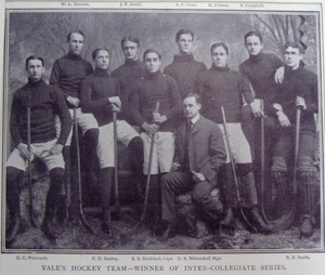Yale University, Hockey Team