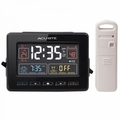 AcuRite Atomic Clock with Dual Alarm, USB Charger & Temperature 13022 / 13035W