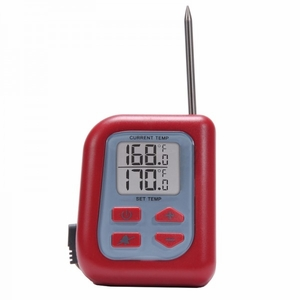 Acurite Digital Meat Thermometer with Probe for Oven / Grill / Fryer, 00993STA2