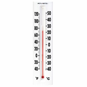 Acurite Indoor or Outdoor Easy Read Thermometer, 00880