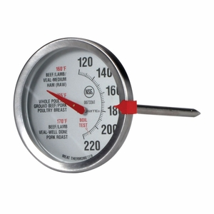 Acurite NSF Stainless Steel Oven-Safe Meat Thermometer, 00732A1