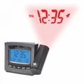 AcuRite Atomic Projection Clock with Indoor Temperature, 13239