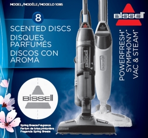 Bissell Steam Mop Spring Breeze Freshening Discs, 8 pack, 1095