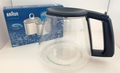 Braun Coffee Maker Carafe, AromaDeluxe, 67050717 & Water Filer 3112770 Kit