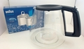 Braun Coffee Maker Carafe, AromaDeluxe, 67050721 & Water Filer 3112770 Kit