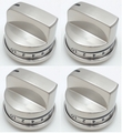 Burner Knob 4 Pack for LG Ranges, AP4450343, PS3534128, EBZ37189609