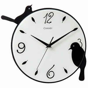"Chaney, 10.5"" Songbirds Wall Clock, 46079"